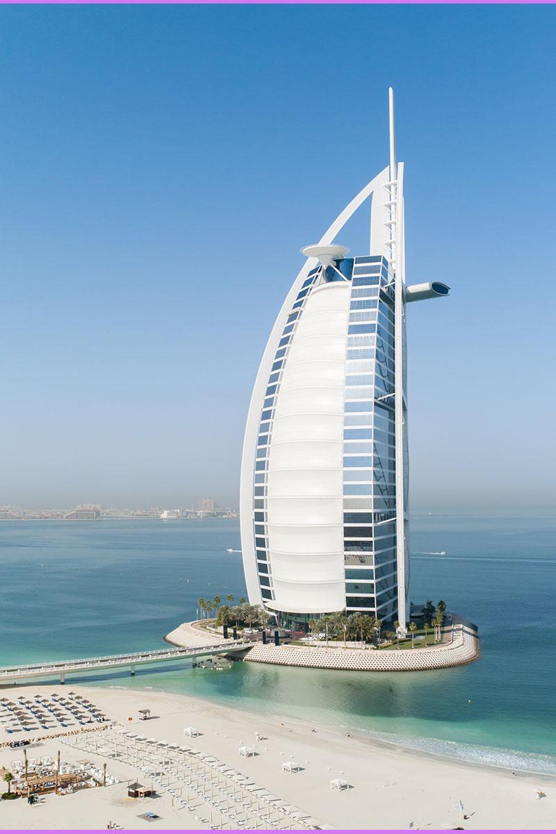 Moderna arhitektura - Burj Al Arab, Dubai