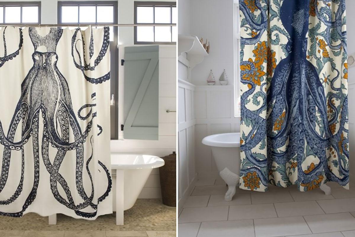 Originalne zavese za kupatilo