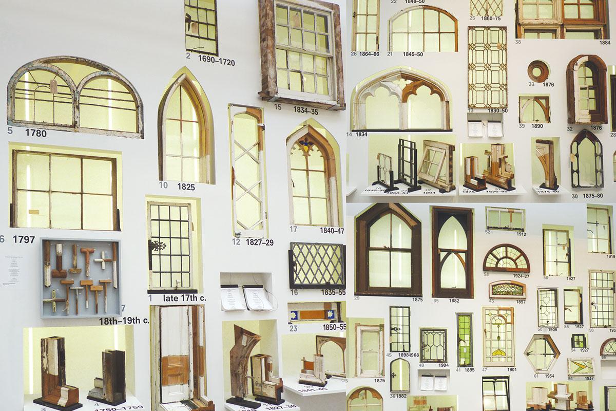 Povijest prozora na Bienalu arhitekture u Veneciji / Photo: Mladen Divković