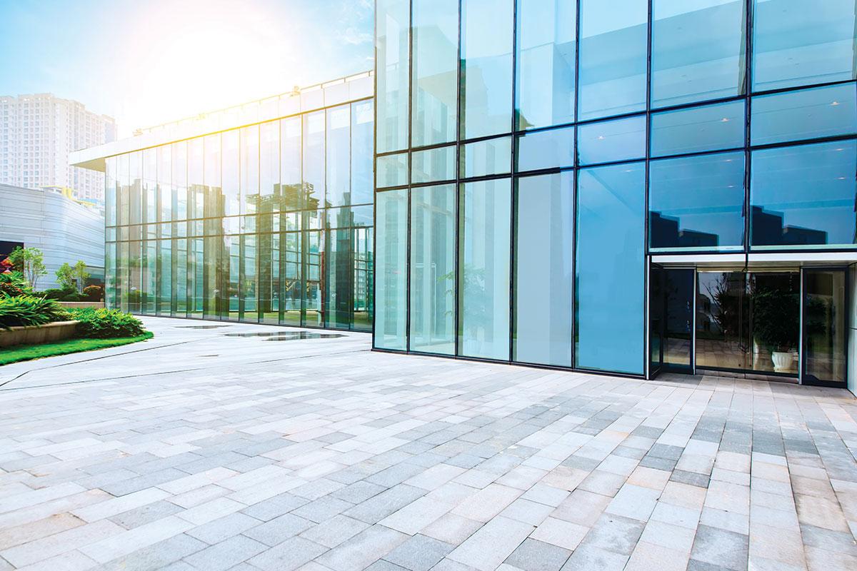 Fasada od aluminijuma i stakla