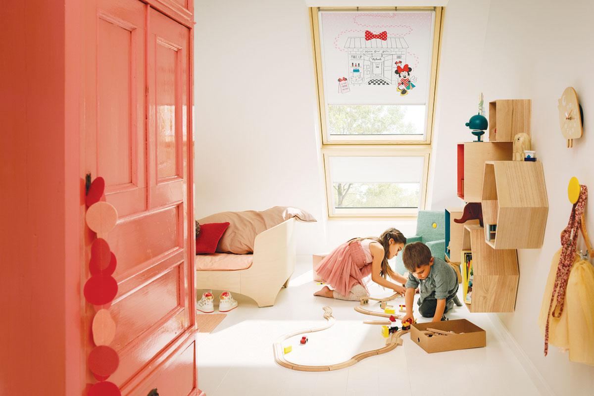 VELUX - Siesta roletne, kolekcija za dečije sobe
