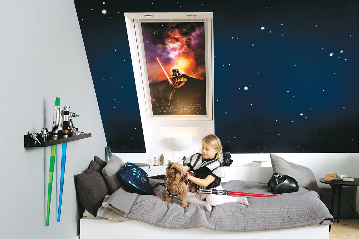 VELUX - Siesta roletne, STAR WARS dečija kolekcija