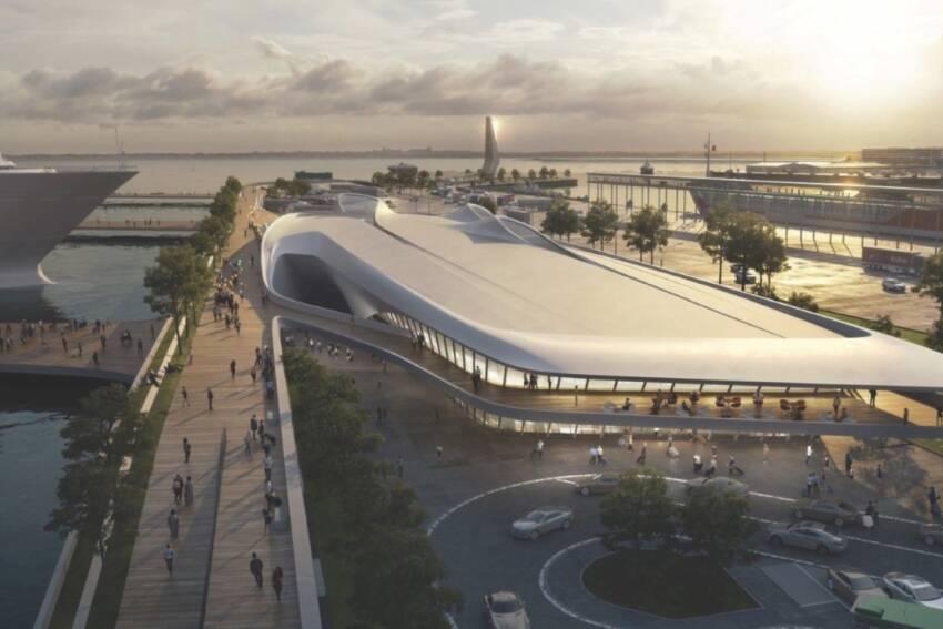 Zaha Hadid Architects gradi luku u Talinu