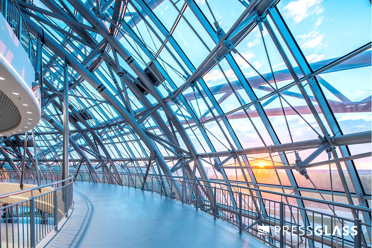 G2A Arena u Poljskoj - staklena fasada PRESS GLASS