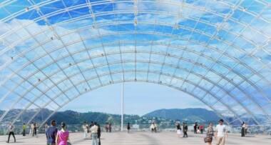 Objekat će biti izveden od prefabrikovanih betonskih panela