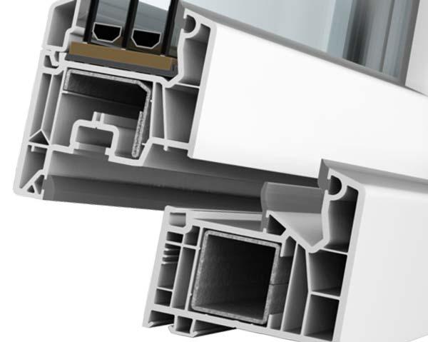 SOFTLINE 76 Novi VEKA prozorski sustav ugradbene dubine 76 mm