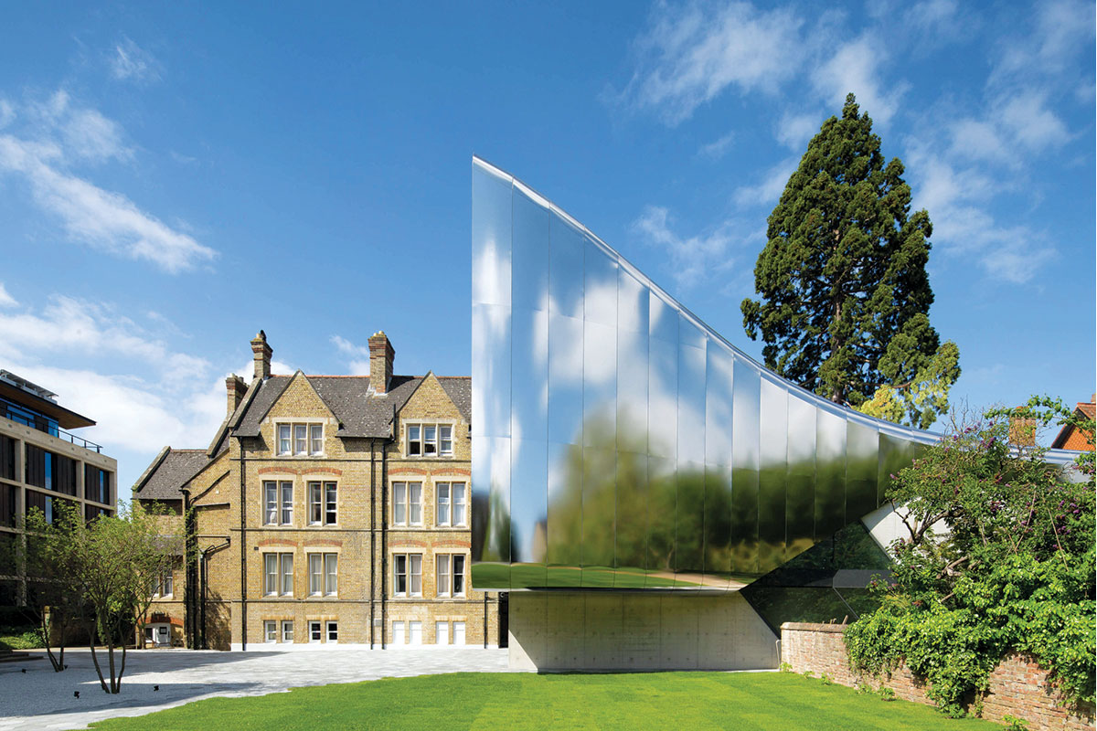 Zaha Hadid - Saint Antony's College, University of Oxford