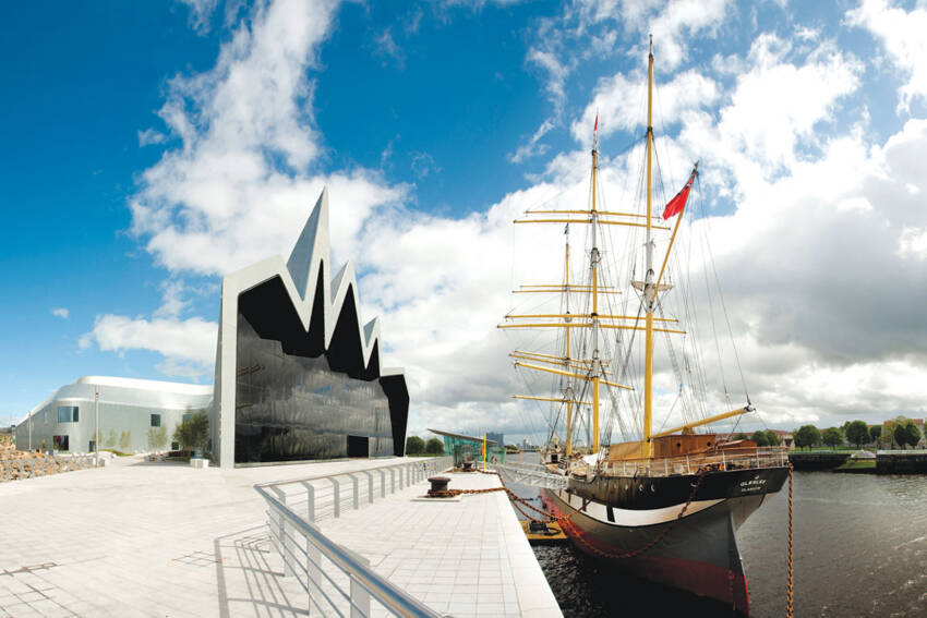 Zaha Hadid - Riverside Museum, Glasgow