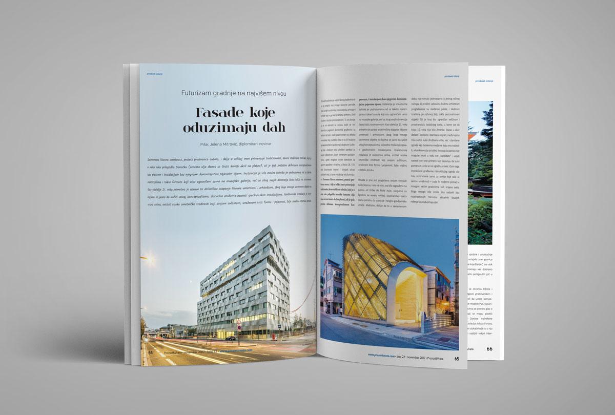 Časopis PROZORI&VRATA broj 22, novembar 2017