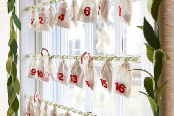 Dekoracija prozora za praznike