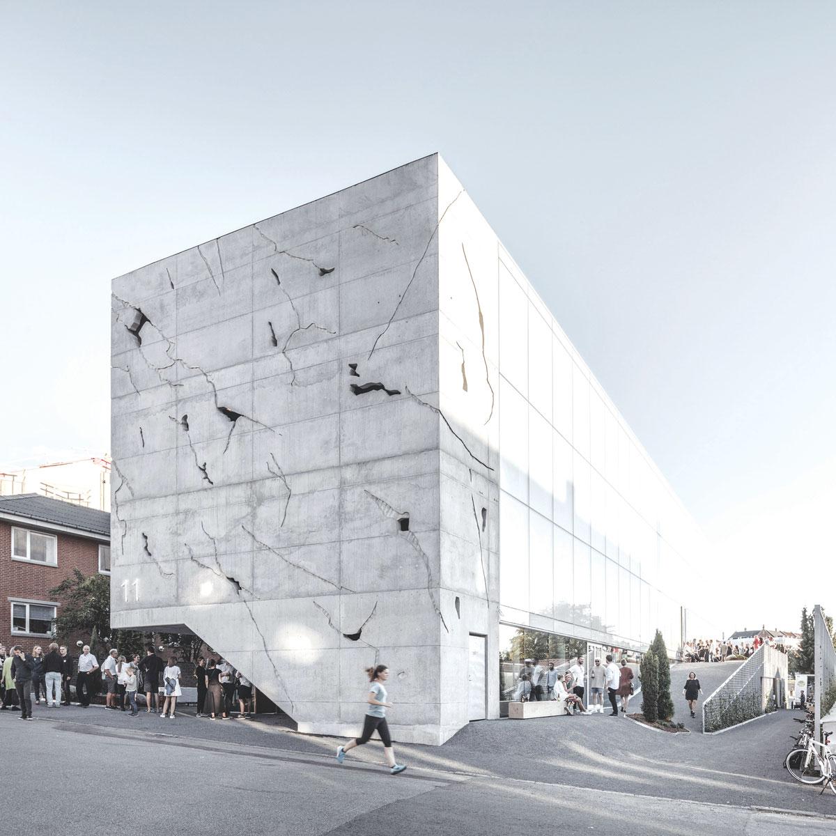 Fasade od 3D fiber cementa