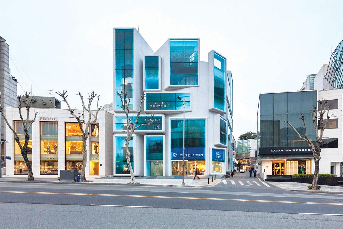 Moderne fasade 21. veka