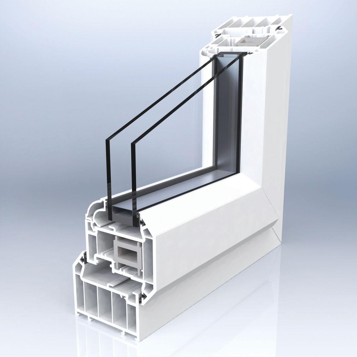 PVC-U stolarija, profil