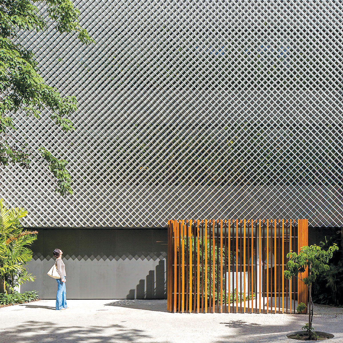 Ventilirajuće fasade od perforiranih polimer betonskih panela
