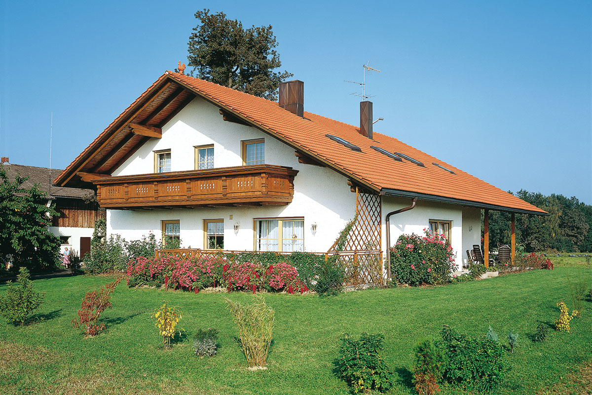 Profine Group - photo: ruralni objekt u Njemačkoj, stolarija KBE