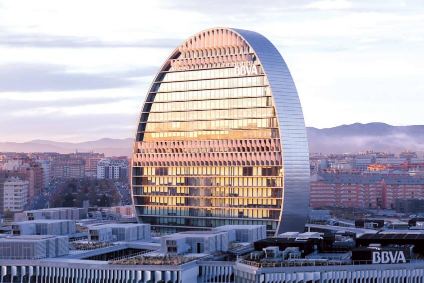 "Tehnomarket d.o.o. projekat BBVA Bank headquarters ""La Vela"", Madrid, Španjolska"