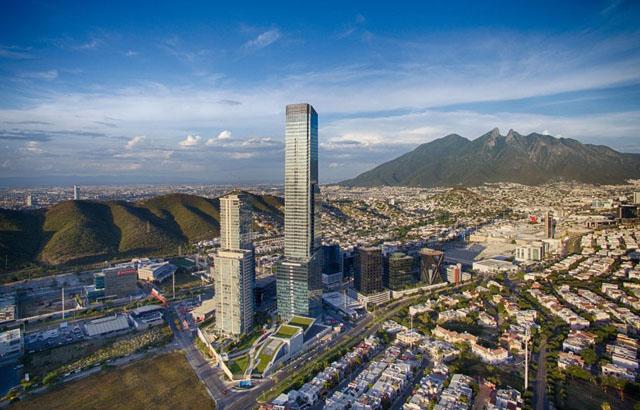 Torre KOI u San Pedro Garza García, Meksiko