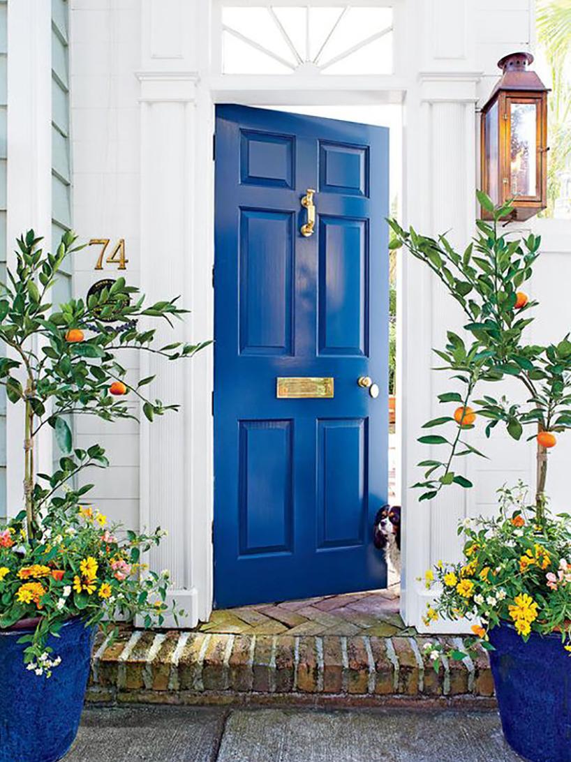 Feng shui ulazna vrata plave boje