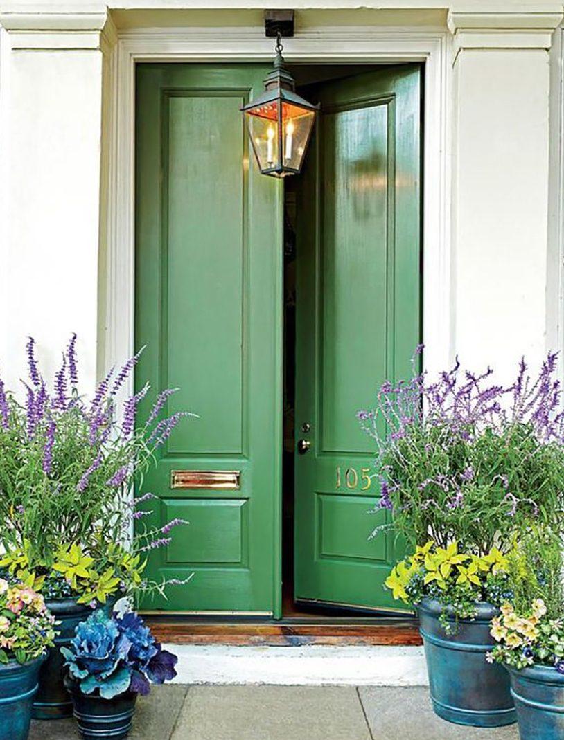 Feng shui ulazna vrata zelene boje
