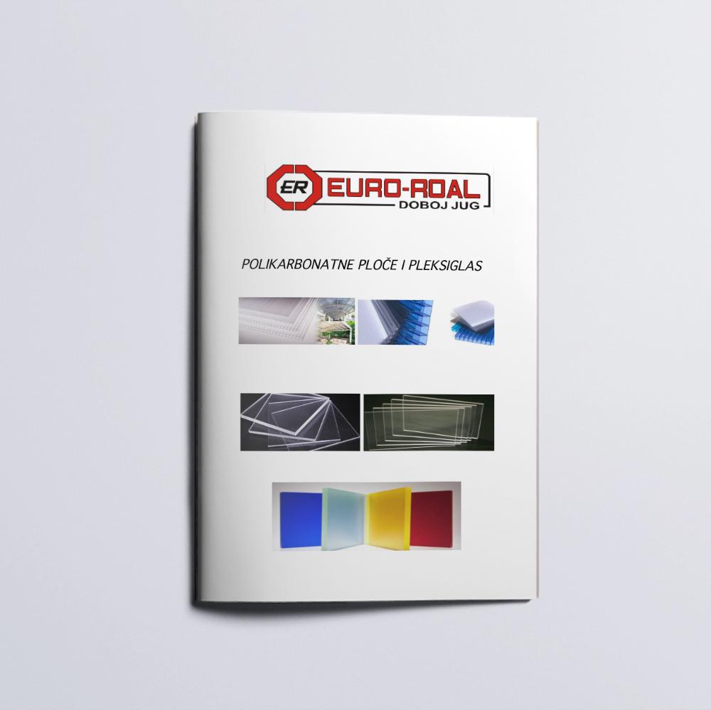 Polikarbonat i pleksiglas, katalog kompanije Euro-Roal d.o.o.