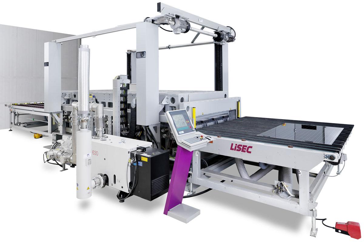 Mašina za obradu i proizvodnju stakla LiSEC