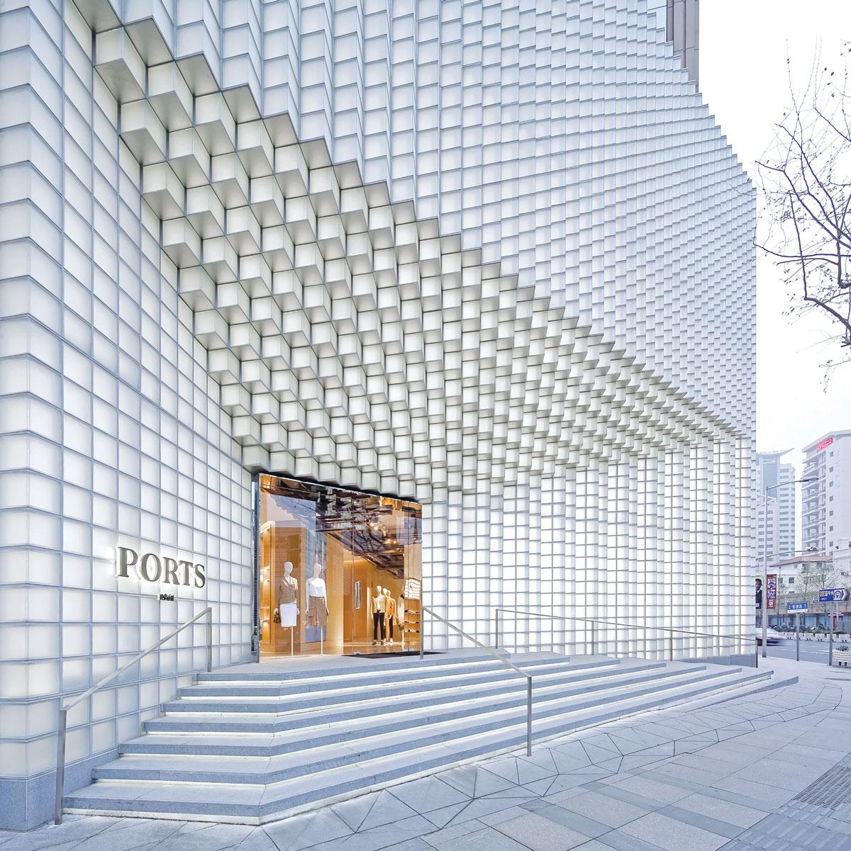 Moderna arhitektura, fasade