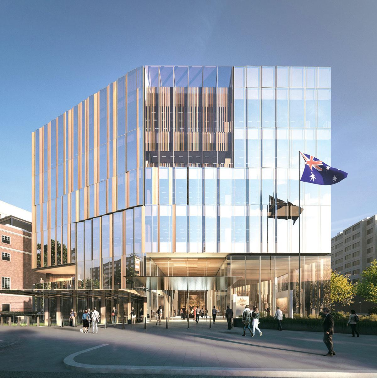 Savremena arhitektura, aluminijum-staklene fasade