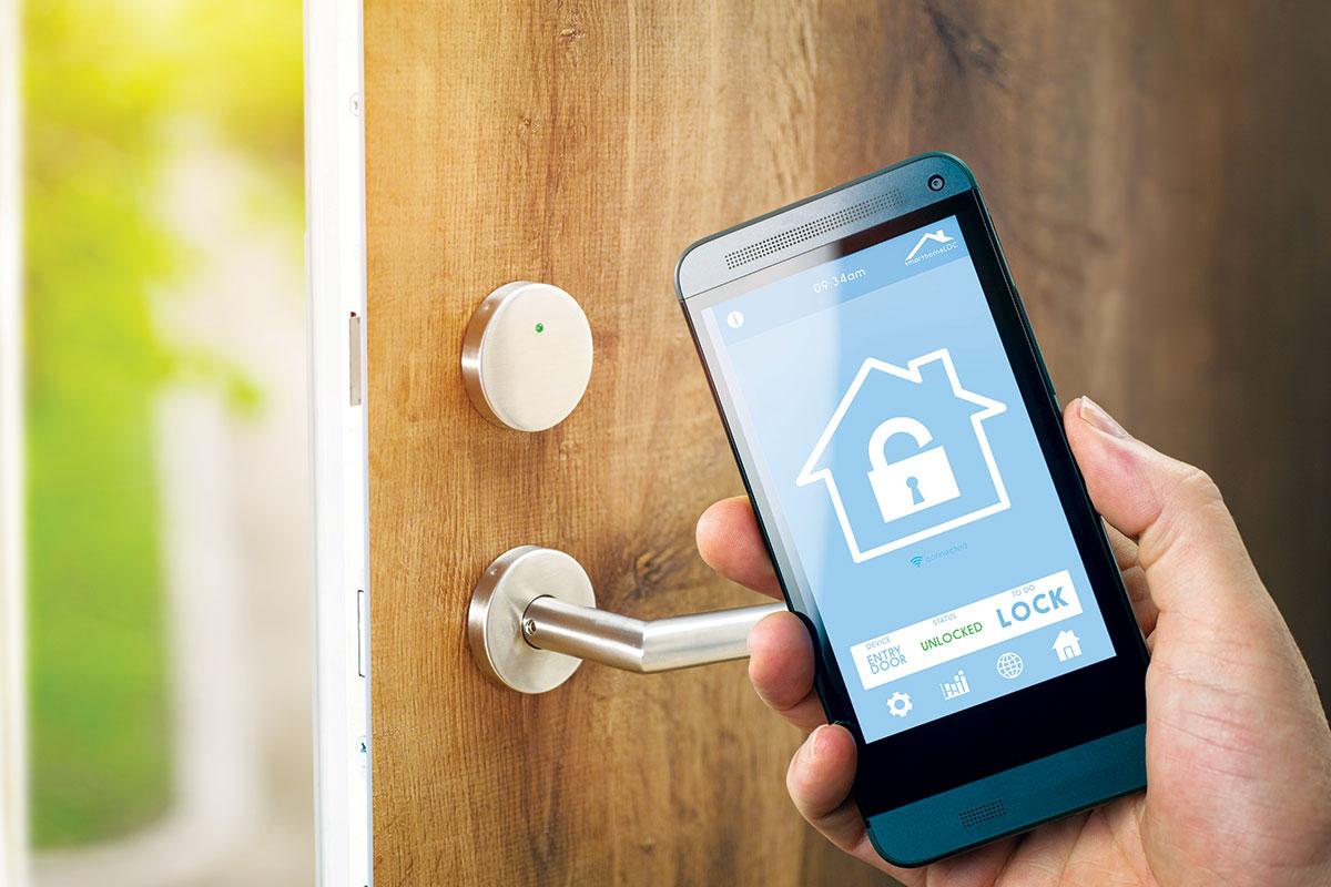 Sigurnosna vrata sa alarmnim sistemom, pametne brave
