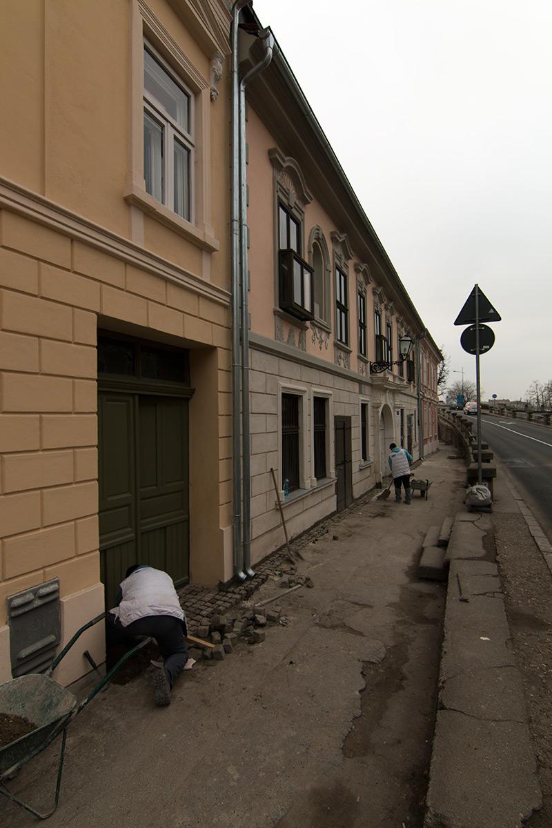 Plan je da se sve fasade obnove do proleća