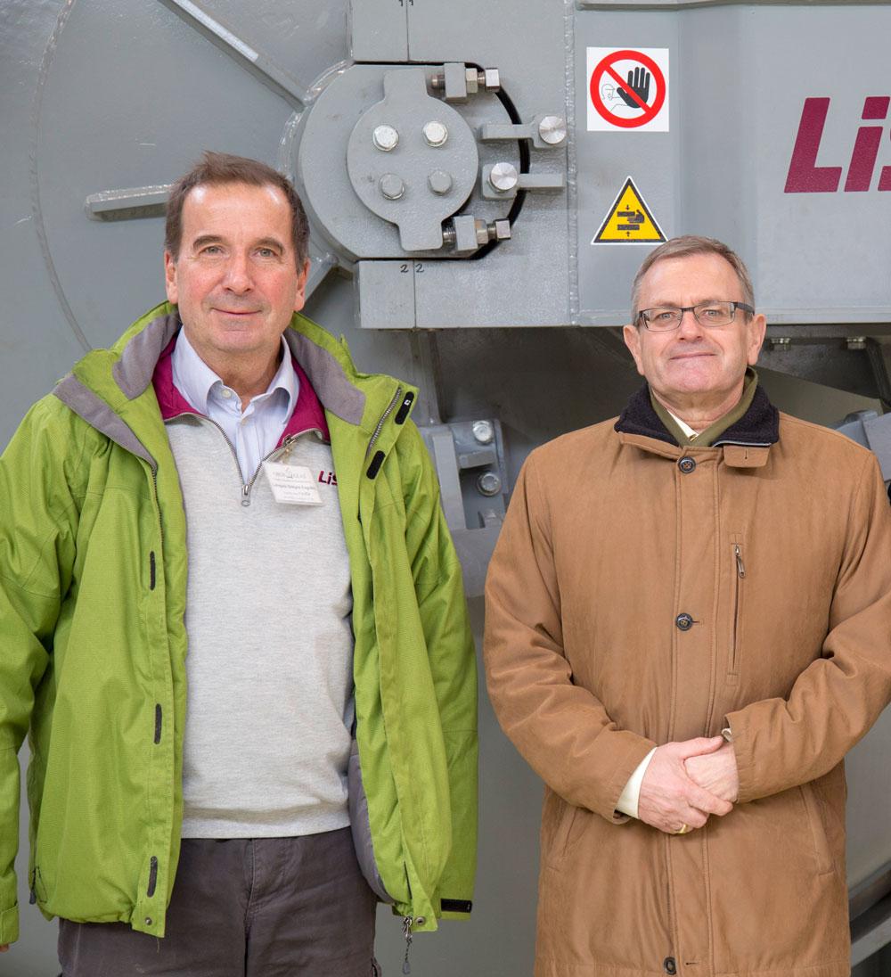 Kristof Fabian, LiSEC agent prodaje u Mađarskoj i Istvan Toth, generalni direktor kompanije OROShazaGLAS