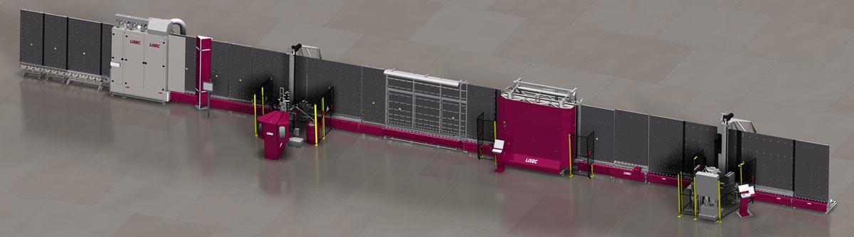 LiSEC FitLine 5 mašina za proizvodnju IZO stakla