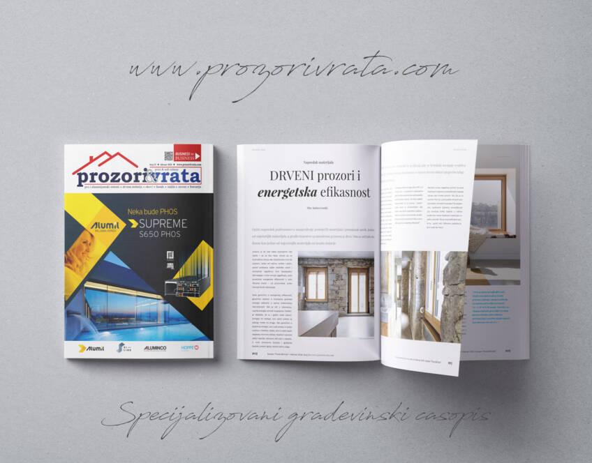 Časopis PROZORI&VRATA broj 23, februar 2018