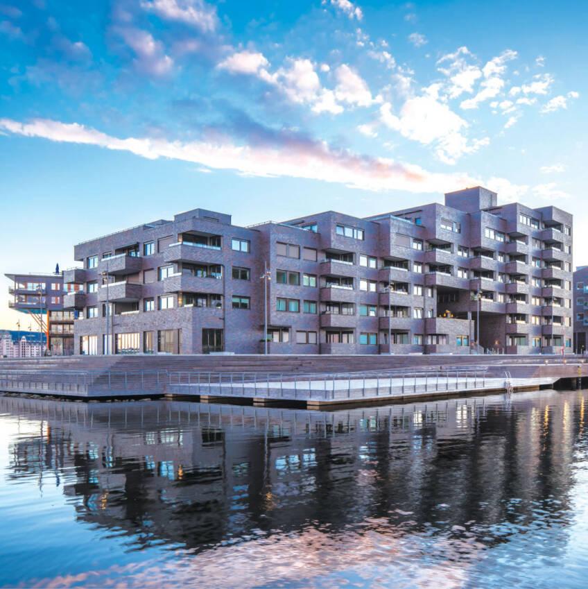 PRESS GLASS - SØRENGA stambeni kompleks