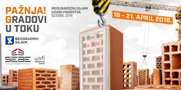 44. Međunarodni sajam građevinarstva SEEBBE 2018
