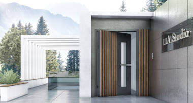 TEHNI aluminijumska vrata velikih dimenzija