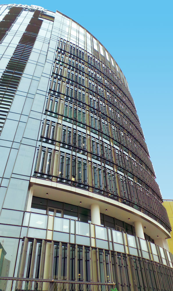 """""""EcoBank"""" headquarters, Accra, Ghana"""