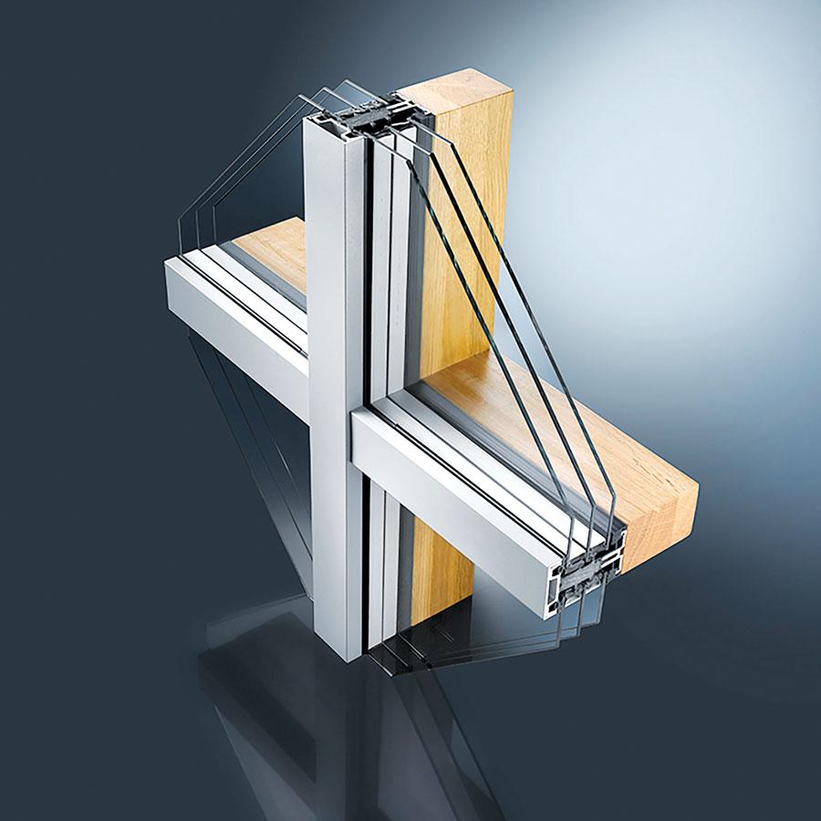 Aluminijum-drvo kombinacija za fasade