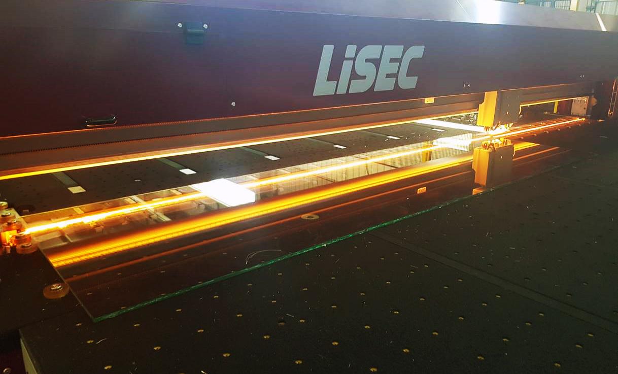 LiSEC automatska linija za sečenje stakla