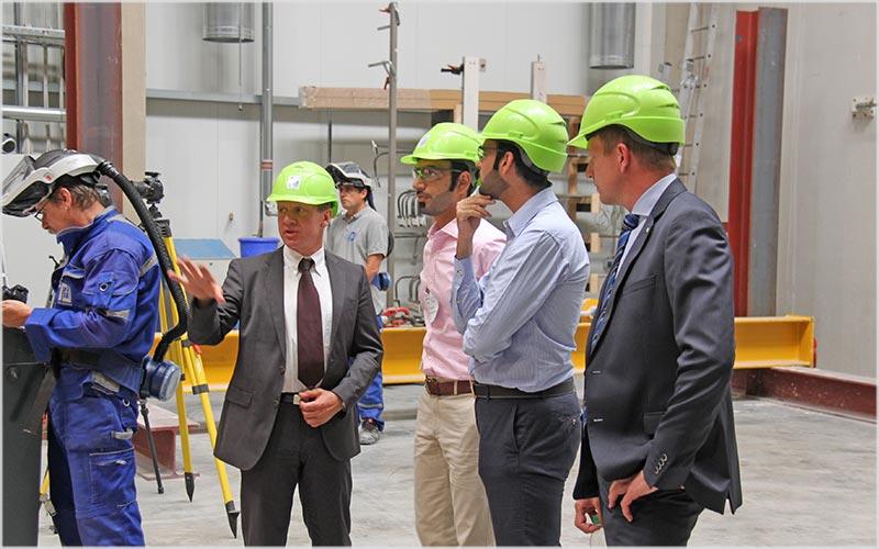 ift Rosenheim - Zaposleni u Civilnoj Zaštiti Dubajia su se lično uverili u tehničku sposobnost instituta