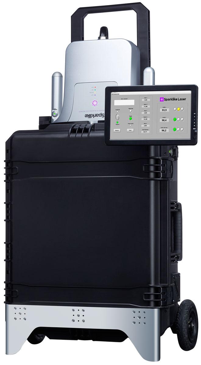 Sparklike Laser™ - ispitivanje gasa za IZO stakla