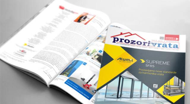 Časopis PROZORI&VRATA broj 24, maj 2018