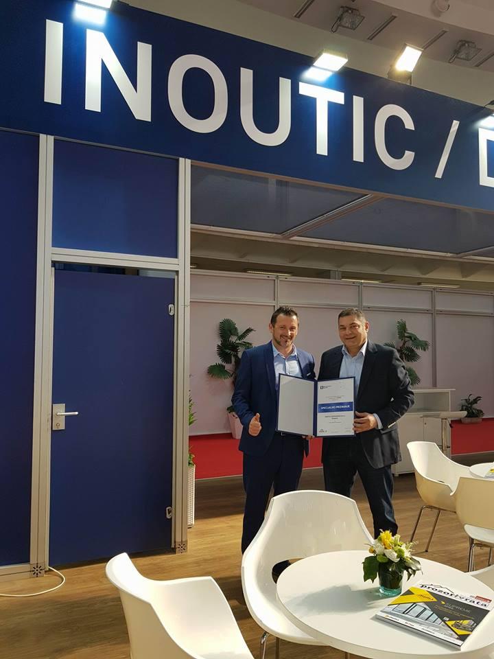 Specijalno priznanje na sajmu građevinarstva za Inoutic / Deceuninck