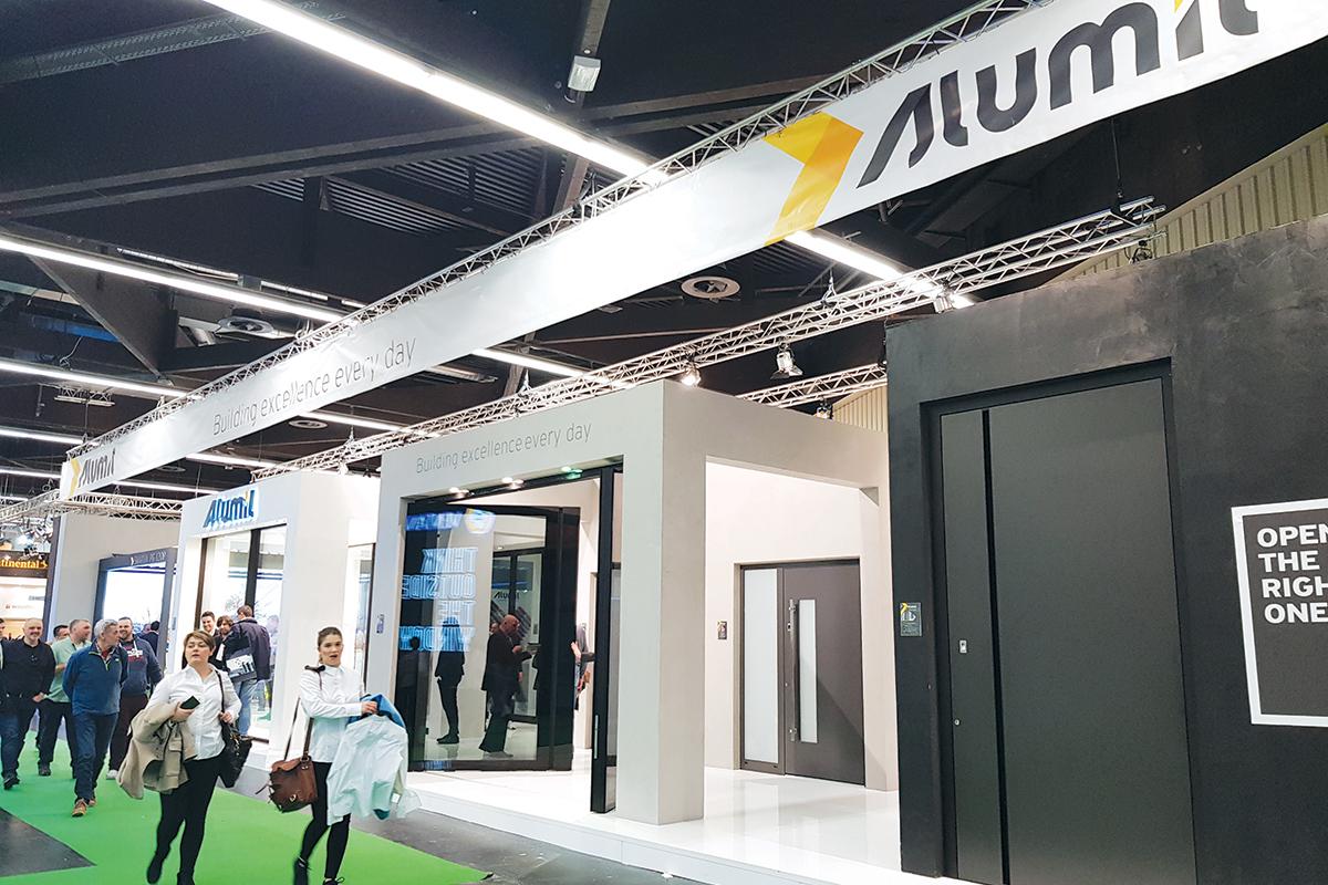 Fensterbau Frontale 2018, alumil