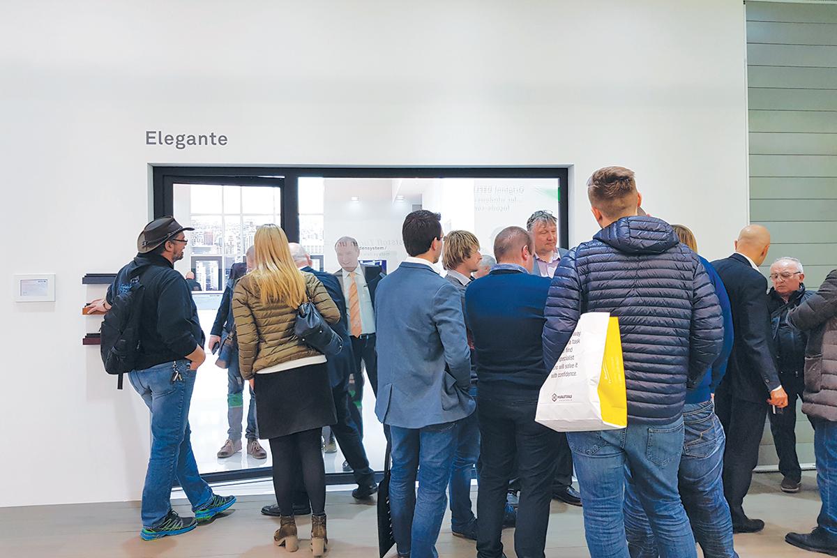 Fensterbau Frontale 2018, Inoutic Elegante prozor