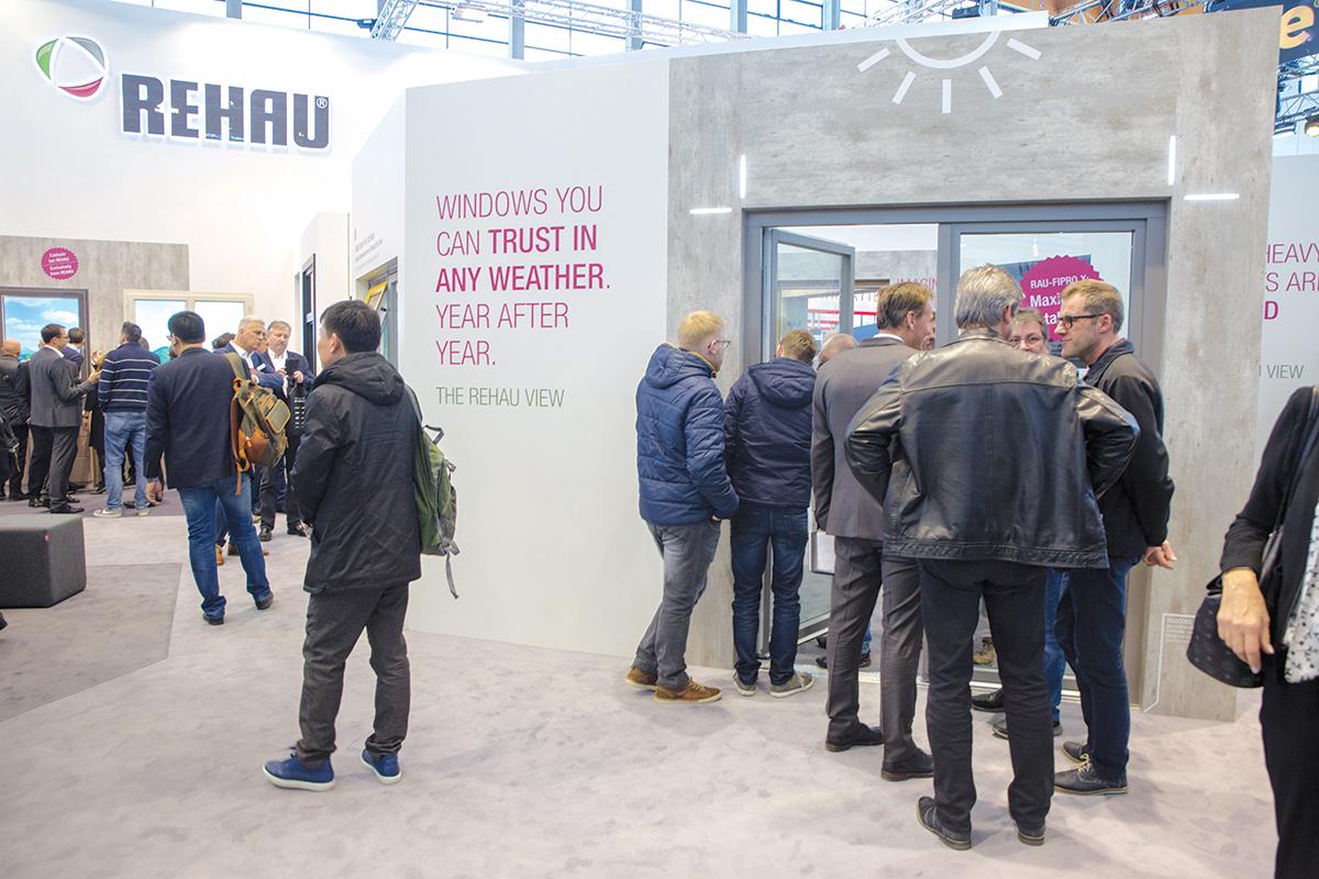 Fensterbau Frontale 2018, REHAU štand, pametni prozori