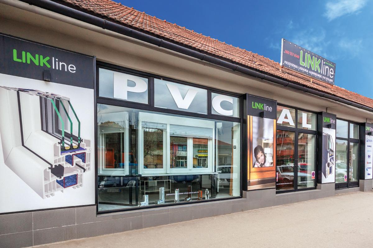 LINK LINE - Showroom PVC stolarije u Novom Sadu
