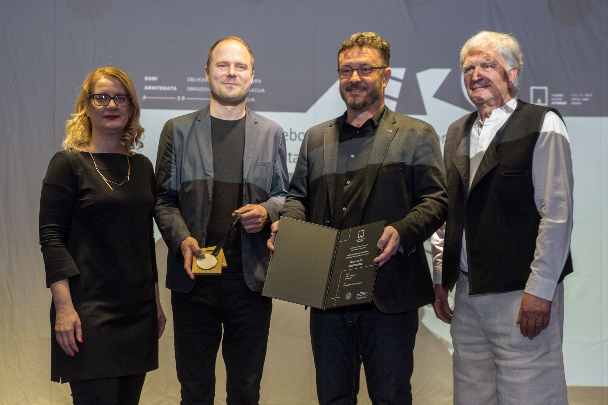 Medalja za arhitekturu - Luka Korlaet, Svebor Andrijević