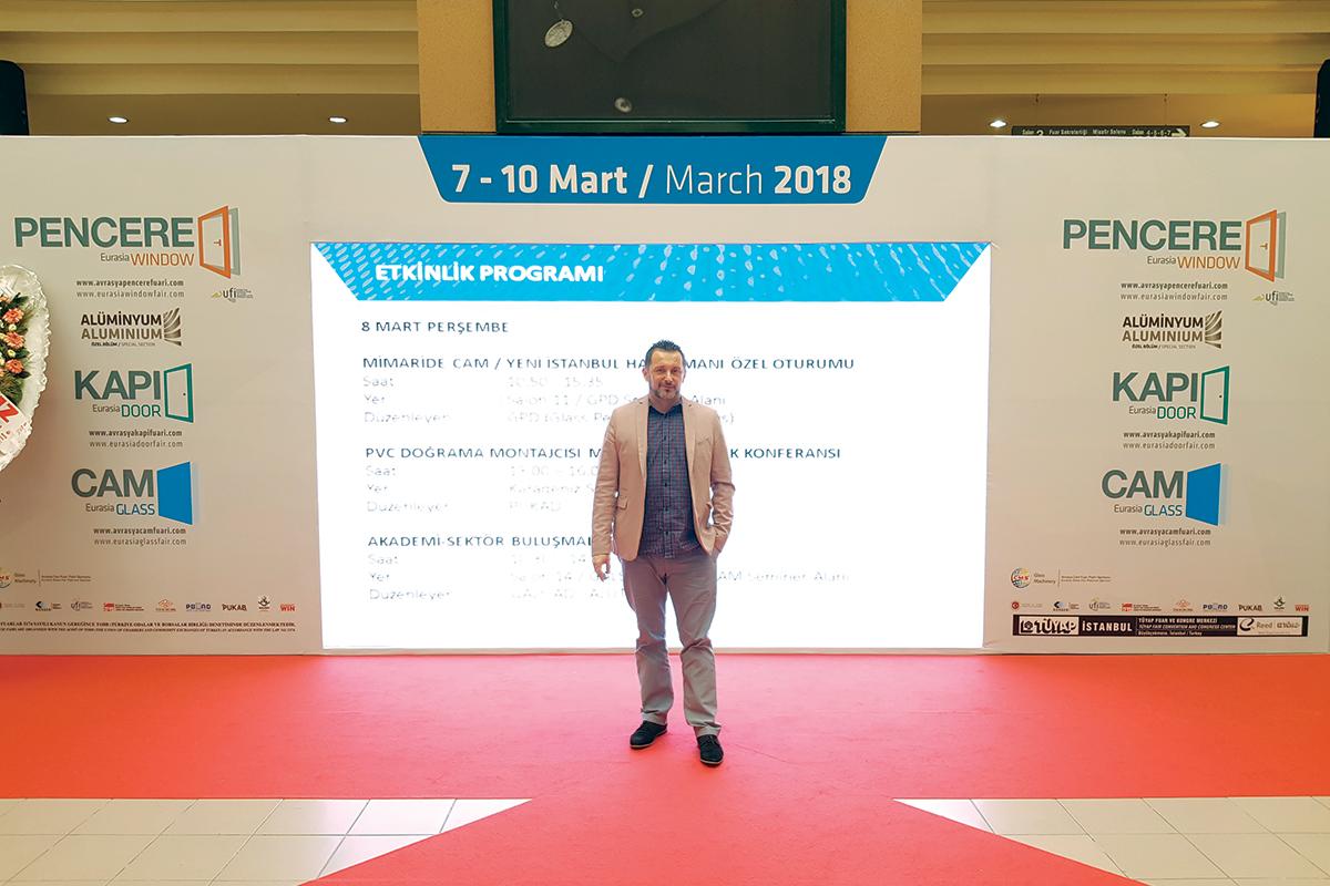 Tüyap 2018, Predrag Rađen, urednik časopisa PROZORI&VRATA