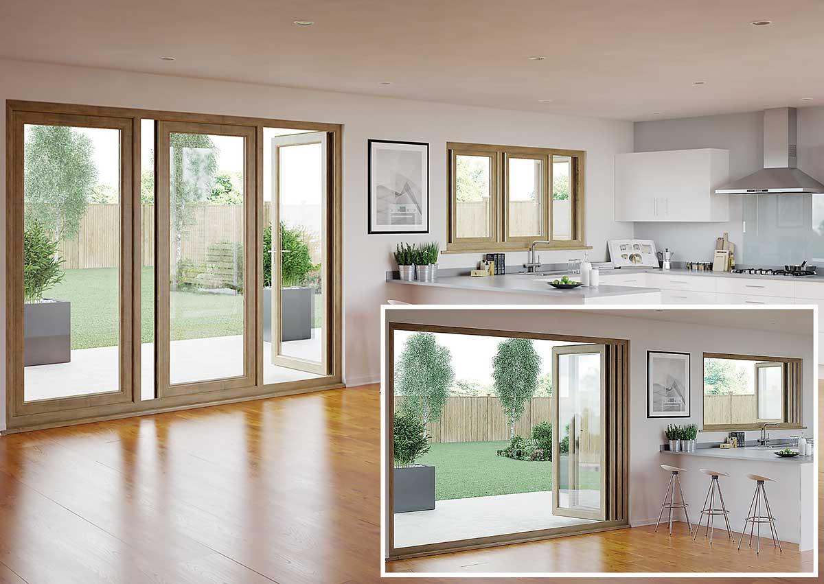 PremiFold 76, poseban klizno - zaokretni sklopivi sustav za prozore i vrata