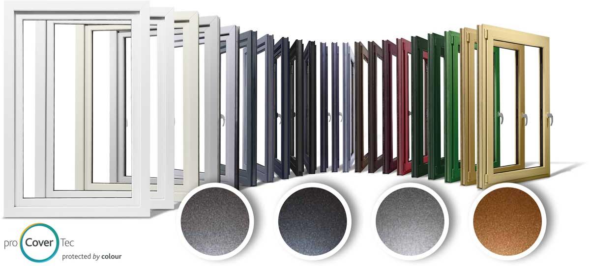 profine Grupa predstavila je četiri nove metalik boje proCoverTec